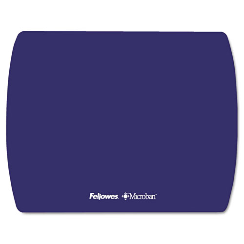 Microban Ultra Thin Mouse Pad, Sapphire Blue | by Plexsupply