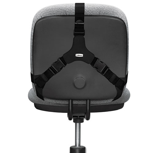 Fel8037601 Fellowes Professional Series Back Support Zuma