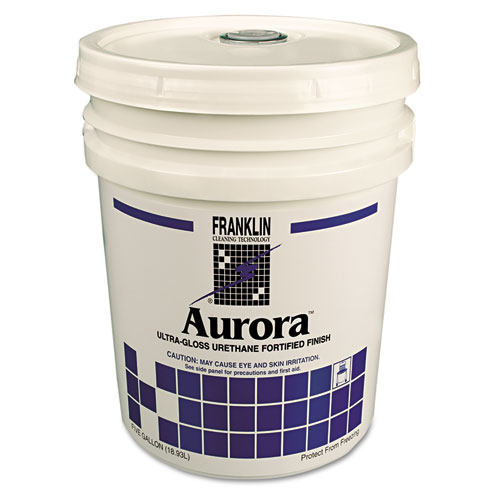Aurora Ultra Gloss Fortified Floor Finish, 5gal Pail