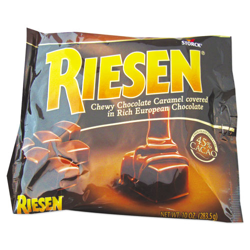 Riesen® Chewy Chocolate Caramel, 9 oz, Bag