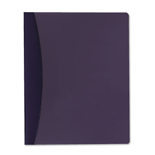Report Cover w/Hidden Swing Clip, Letter Size, Blue