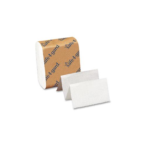 Tissue for Safe-T-Gard Dispenser, Septic Safe, 2-Ply, White, 200 Sheets/Pack, 40 Packs/Carton