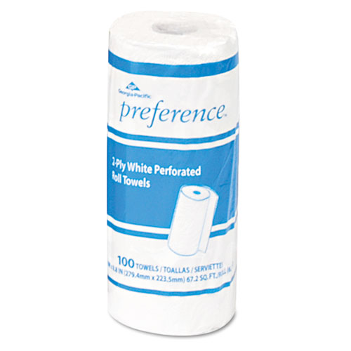 Georgia Pacific® Professional Pacific Blue Select Perforated Paper Towel, 8 4/5x11, White, 100/Roll, 30 RL/CT