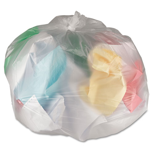 General Supply Hi-Density Can Liners, 24 x 31, 6mic, Natural, 50 Bags/Roll, 20 Rolls/CT