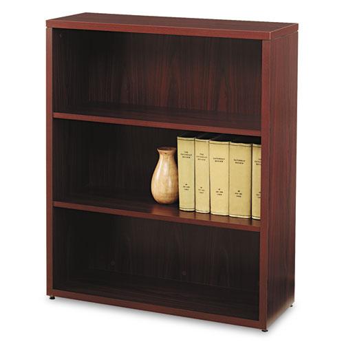 HON 10500 Series Laminate Bookcase, Three-Shelf, 36W X 13-1/8D X 43-3/8H,