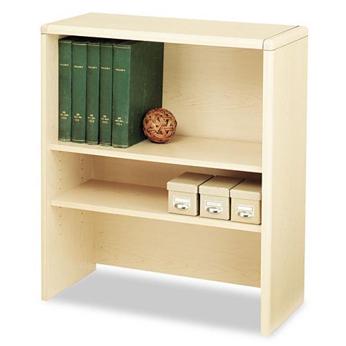 10700 Series Bookcase Hutch, 32.63w x 14.63d x 37.13h, Natural Maple