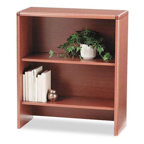 10700 Series Bookcase Hutch, 32.63w x 14.63d x 37.13h, Bourbon Cherry