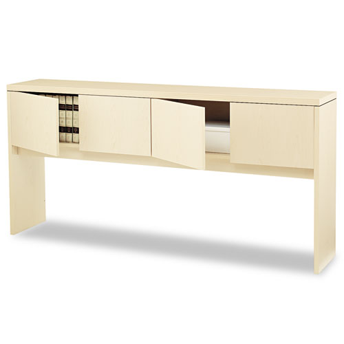 Valido Series Stack-On Storage, 78w x 14.63d x 37.5h, Natural Maple