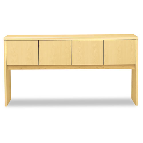 Valido Series Stack-On Storage, 72w x 14.63d x 37.5h, Natural Maple