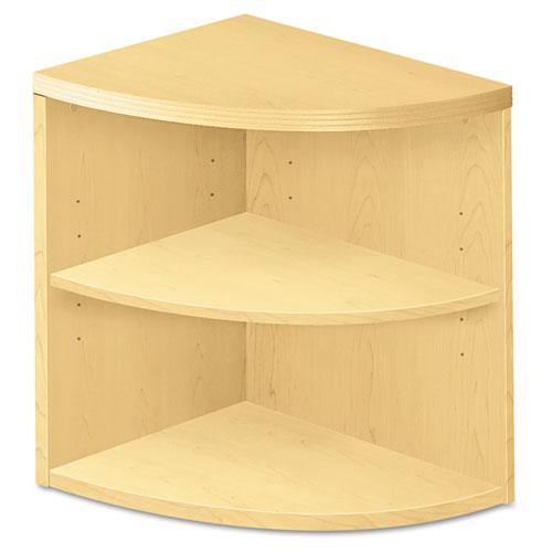 Valido Series Two-Shelf End Cap Bookshelf, 24w x 24d x 29-1/2h, Natural Maple