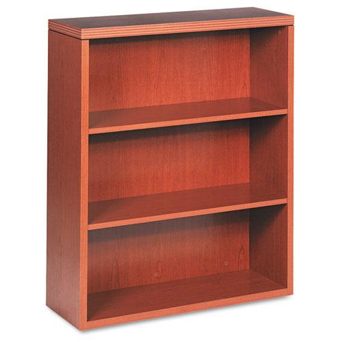 HON® Valido 11500 Series Bookcase, Five-Shelf, 36w x 13-1/8d x 71h, Bourbon Cherry