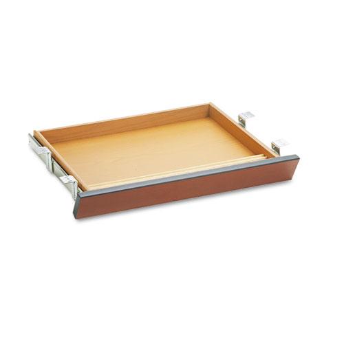 HON® Laminate Angled Center Drawer, 22w x 15 3/8d x 2 1/2h, Harvest