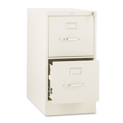 310 Series Two-Drawer Full-Suspension File, Letter, 15w x 26.5d x 29h, Putty