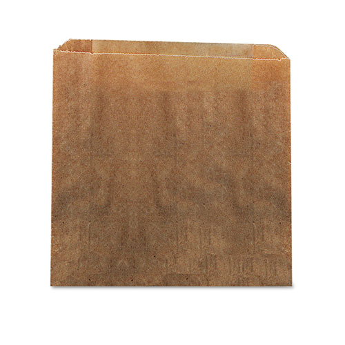 Waxed Kraft Liners, 10.5 x 9.38, Brown, 250/Carton