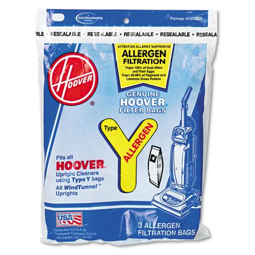 Disposable Allergen Filtration Bags For Commercial WindTunnel Vacuum, 3PK/EA
