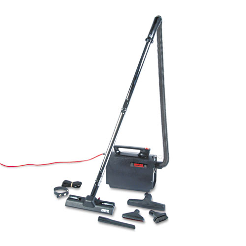 Portapower Lightweight Vacuum Cleaner, 8.3lb, Black