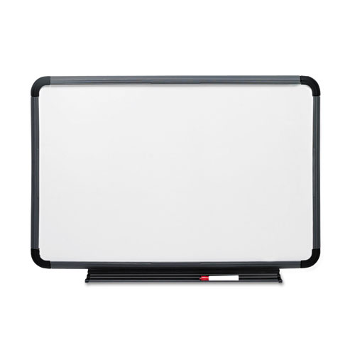 Ingenuity Dry Erase Board, Resin Frame with Tray, 48 x 36, Charcoal ...