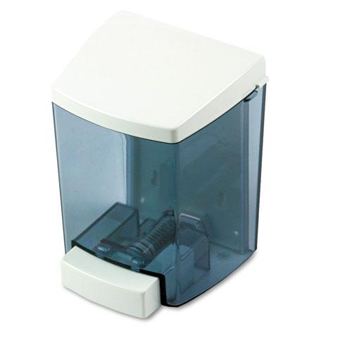 "Impact® Clearvu® ClearVu Encore Liquid Soap Dispenser, 30 oz, 4.5"" x 4"" x 6.25"", Black/White"