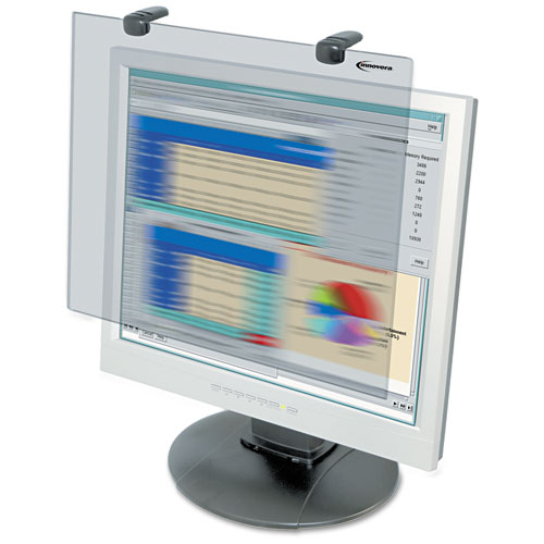 Premium Antiglare Blur Privacy Monitor Filter for 19-20 LCD