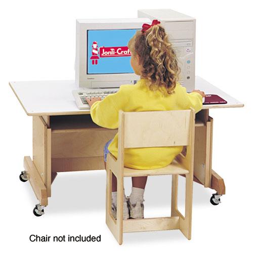 Computer Table, 42w x 29d x 30h, White