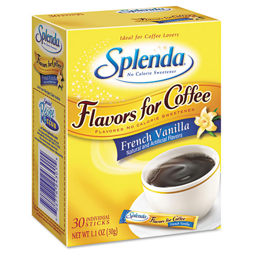 Splenda® Flavor Blends for Coffee, French Vanilla, Stick Packets, 30/Pack