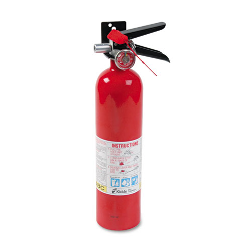 ProLine Pro 2.5 MP Fire Extinguisher, 1 A, 10 B:C, 100psi, 15h x 3.25 dia, 2.6lb