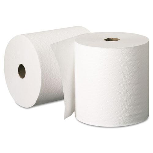 "Scott® Essential Plus Hard Roll Towels, 1.5"" Core, 8"" x 425 ft, White, 12 Rolls/Carton"