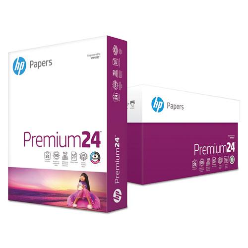Premium24 Paper, 98 Bright, 24lb, 8.5 x 11, Ultra White, 500/Ream
