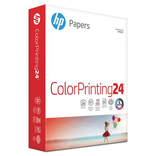 ColorPrinting24 Paper, 97 Bright, 24lb, 8.5 x 11, White, 500/Ream
