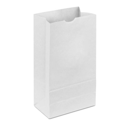Dubl Wax SOS Bakery Bags, 6 x 11, White, 1,000/Carton