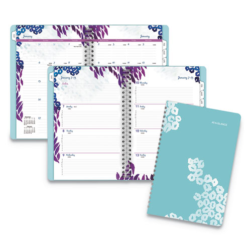 at a glance wild washes weekly monthly planner 5 1 2 x 8 1 2