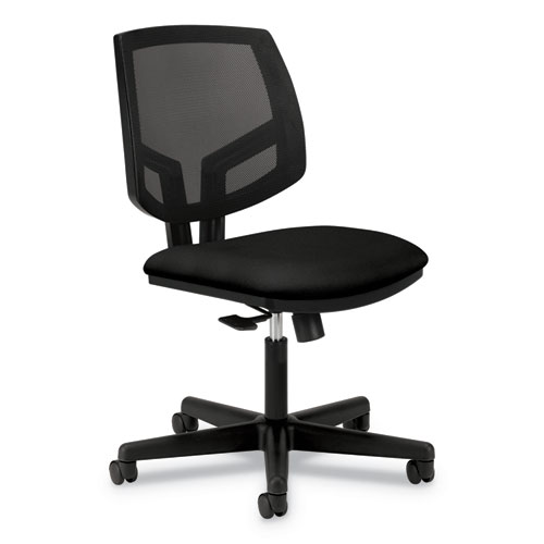 Volt Series Mesh Back Task Chair, Supports up to 250 lbs., Black Seat/Black Back, Black Base | by Plexsupply