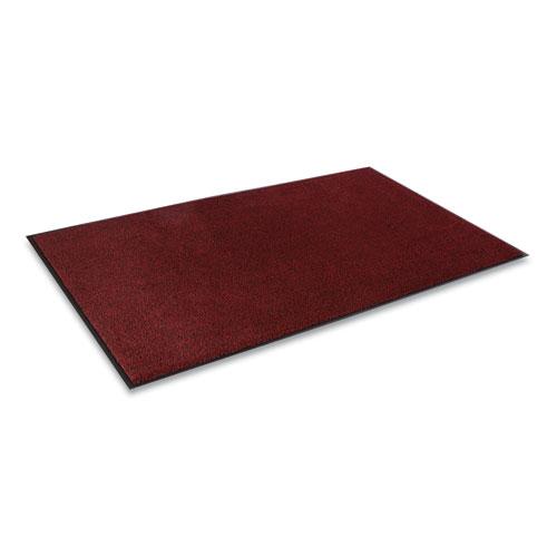 Dust-Star Microfiber Wiper Mat, 48 x 72, Red
