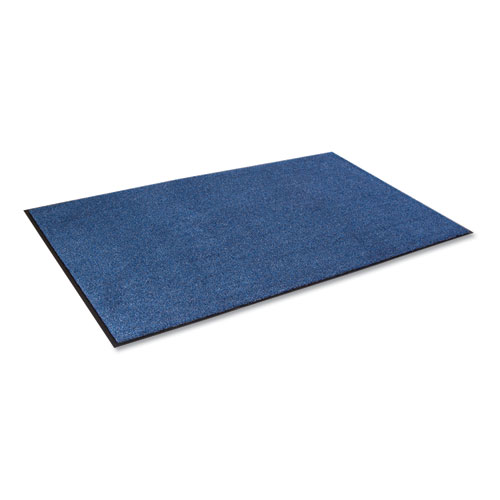Crown Rely-On Olefin Indoor Wiper Mat, 36 x 60, Marlin Blue