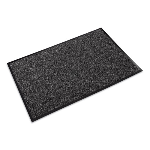 Fore-Runner Outdoor Scraper Mat, Polypropylene, 36 x 60, Gray | by Plexsupply