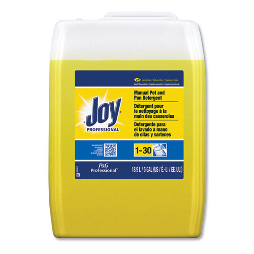 Dishwashing Liquid, Lemon, Five Gallon Cube