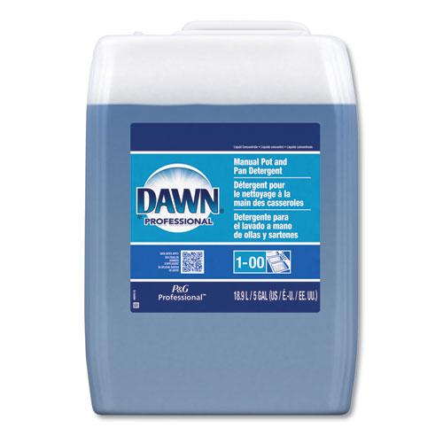 Manual Pot/Pan Dish Detergent, Original Scent, Five Gallon Cube