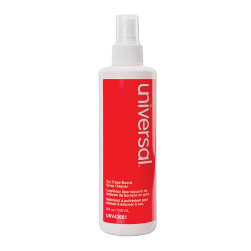 Dry Erase Spray Cleaner, 8 oz Spray Bottle