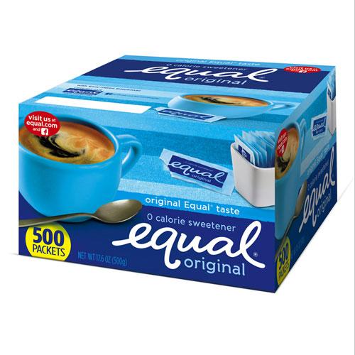 Zero Calorie Sweetener, 0.035 oz Packets, 500/Box