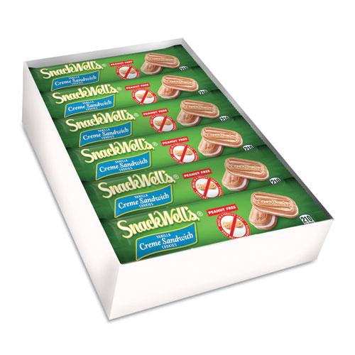 SnackWells Cookies, Vanilla Creme, 1.7 oz Pack, 48/Carton