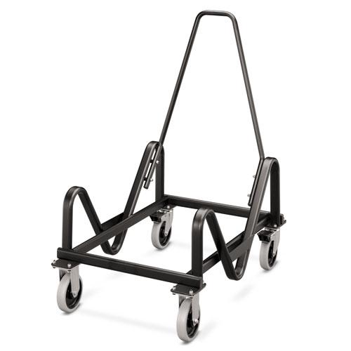 Olson Stacker Series Cart, 21.38w x 35.5d x 37h, Black