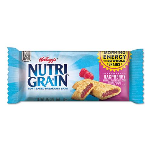 Nutri-Grain Soft Baked Breakfast Bars, Raspberry, Indv Wrapped 1.3 oz Bar, 16/Box