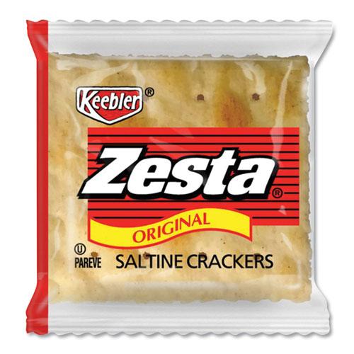 Zesta Saltine Crackers, 2 Crackers/Pack, 500 Packs/Carton