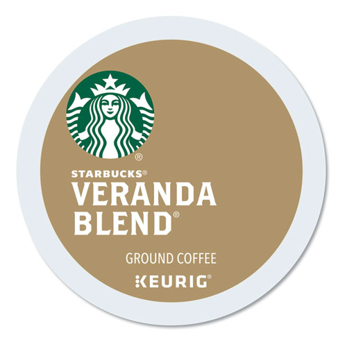 Starbucks® Veranda Blend Coffee K-Cups Pack, 24/Box
