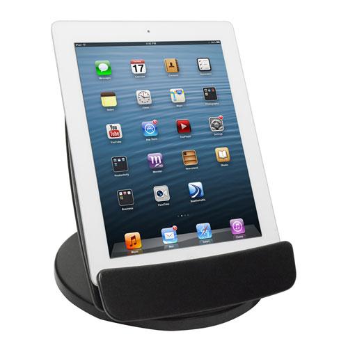 Rotating Desktop Tablet Stand, Black