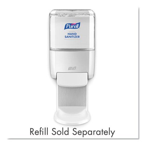 Push-Style Hand Sanitizer Dispenser, 1200 mL, 5.25 x 8.56 x 12.13, White