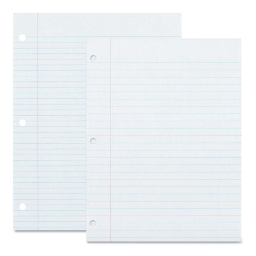 Pacon® Ecology Filler Paper, 3-Hole, 8.5 x 11, Medium/College Rule, 150/Pack