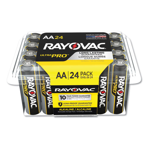 Ultra Pro Alkaline AA Batteries, 24/Pack