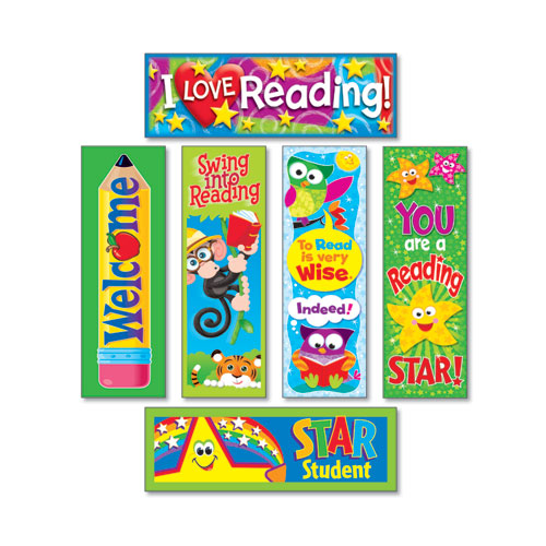 Bookmark Combo Packs, Reading Fun Variety Pack 2, 2w x 6h, 216/Pack