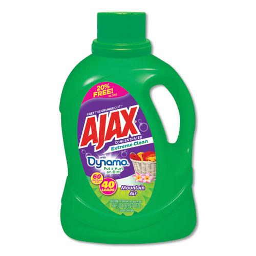 Laundry Detergent Liquid, Extreme Clean, Mountain Air Scent, 40 Loads, 60 oz Bottle